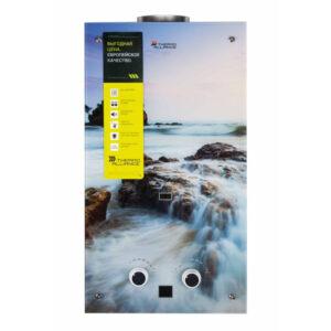 Колонка газовая дымоходная Thermo Alliance JSD20-10GA 10 л стекло (море)